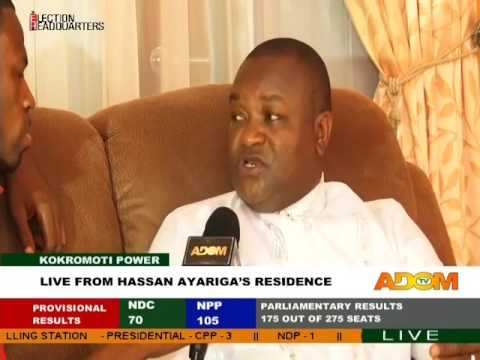 Live from Hassan Ayariga's Residence - Kokromoti Power on Adom TV (9-12-16)