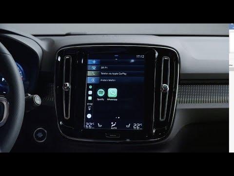 Nya Volvo XC40 – Uppkopplad bil