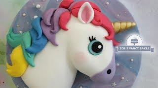 Rainbow Unicorn cake amazing cake tutorials