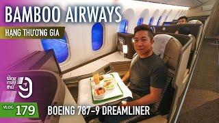 [M9] #179: Boeing 787-9 đầu tiên của Bamboo Airways | Khoang hạng thương gia tuyệt đẹp | Yêu Máy Bay