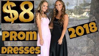 Thrift Shop Prom Dress Challenge