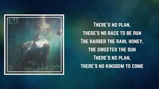 Hozier - No Plan (Lyrics)