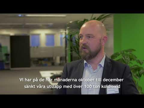 Kort introduktion till Sparsam Körning av Mattias på Götene Kyltransporter (svensk text)
