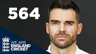 Record Breaker | Jimmy Anderson's Road To 564 Test Wickets