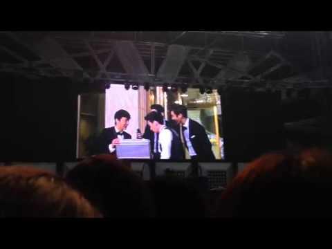 [Fancam] 130323 Super Show 5 Seoul Day 1 ㅡ BTS VCRs & practice clips lol