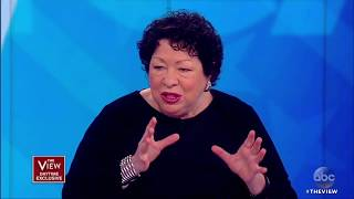 Justice Sonia Sotomayor On Sen. McCain, Puerto Rico And More   The View