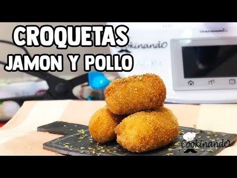 CROQUETAS CASERAS DE JAMON Y POLLO THERMOMIX || SORTEO!!!