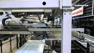 Работа склада MV с подключенным лазером (разгрузка с сортировкой и отдача продукции обратно в склад)