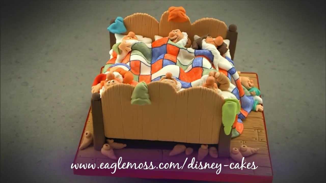 Disney Cakes Amp Sweets 7 Dwarves Cake Youtube