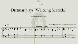 """Dietmar plays """"Waltzing Matilda"""""""