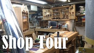 Shop Tour - Matt Cremona's Woodworking Shop