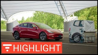 Tesla Model 3 Has Superior Front Crash Avoidance Says IIHS - Why So Many Accidents? [highlight]