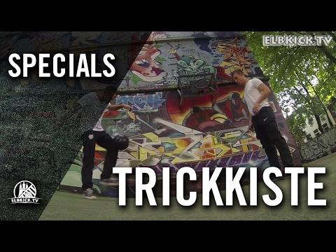 Trickkiste mit Diego Ballester und Andy Friebe (beide FC Teutonia 05) | ELBKICK.TV