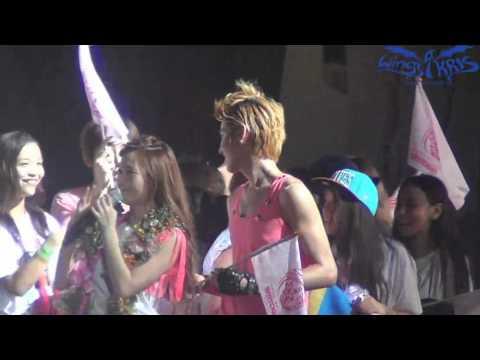 [FANCAM] 120818 Kris @ SM Town in Seoul Ending