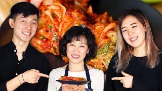 Mom Teaches Korean Americans How To Make Kimchi