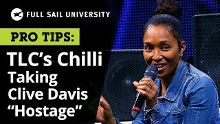 TLC's Chilli on Taking Clive Davis Hostage (and renegotiating their contract) | Full Sail University