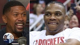 Westbrook will find a way to rack up points even if Harden gets hot - Jalen Rose   Jalen & Jacoby