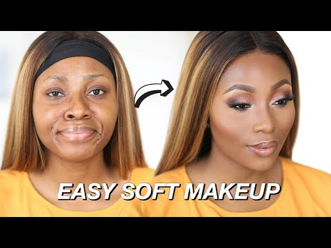 THE PERFECT SOFT GLAM (EVERYDAY) MAKEUP FOR BLACK WOMEN | DIMMA UMEH