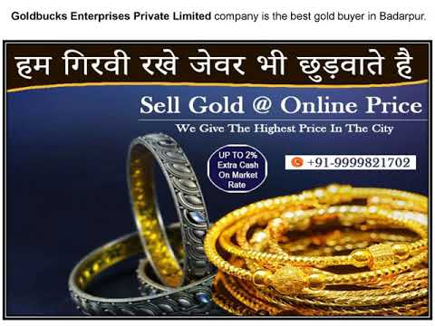 Cash For Gold In Badarpur