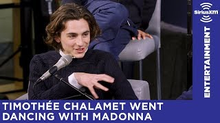 Timothée Chalamet's first time meeting Andy Cohen