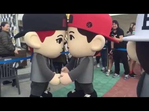 [FANCAM] EXO RUN -CHANYEOL, BAEKHYUN & CHEN