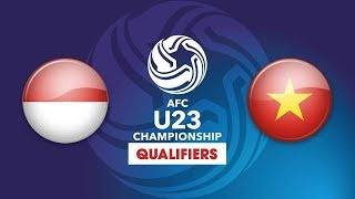 FULL | U23 INDONESIA vs U23 VIỆT NAM | VFF Channel