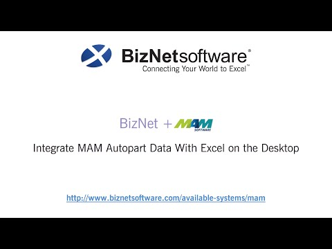 BizInsight for MAM Autopart