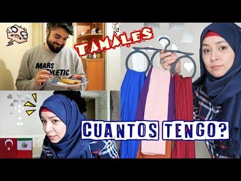 Mi Closet ¿Cuantos Velos Tengo? + HAGO TAMALES | Mexicana En Turquía
