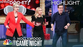 "Kristen Bell, Jennifer Garner and More ""Doo-et"" for Red Nose Day - Hollywood Game Night"