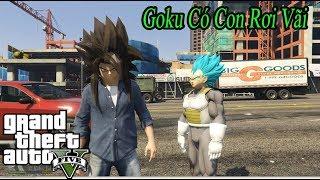 GTA 5 Mod | Son Goku Bị Cướp Du Thuyền Tiền Tỷ , Con Rơi Goku Bị Bắt Cốc