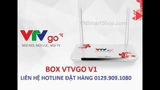 GIỚI THIỆU BOX VTVGO V1 MỚI RA MẮT NGÀY 15.1.2018 . TVBOX VTVGO - BIẾN MỌI TV THÀNH TV THÔNG MINH!
