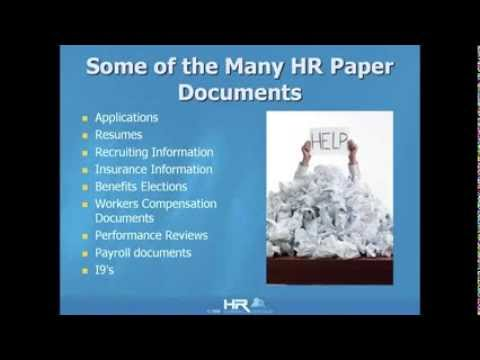 Paperless HR Webinar Preview