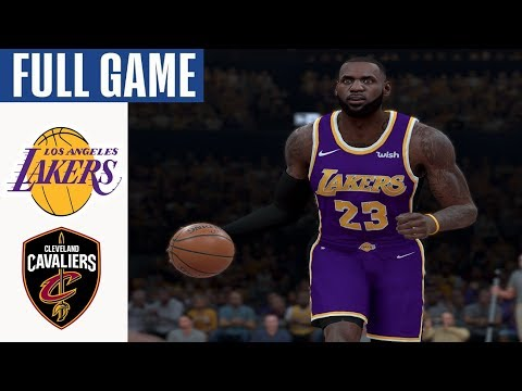 Cavaliers vs Lakers Full Game Highlights! January 13, 2020 NBA Season | NBA 2K20