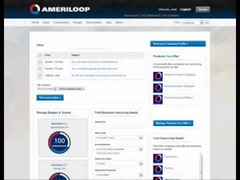 Ameriloop Business Dashboard Functionality Video