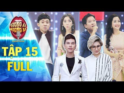 Giọng ải giọng ai 2 | tập 15 full: Hoàng Tôn, Vicky Nhung