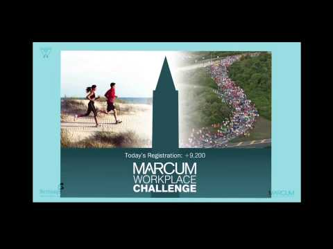 2014 Marcum Workplace Challenge - Jumbotron