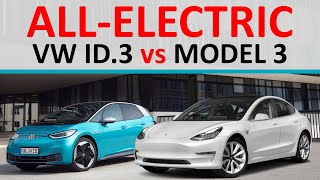 VW ID.3 vs Tesla Model 3: Which All Electric Car is Better?