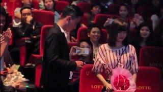 Cầu hôn ấn tượng tại Lotte Cinema Nha Trang