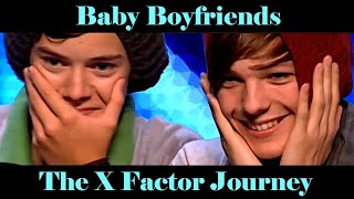Harry & Louis Falling in Love on The X Factor | Larry Stylinson | One Direction
