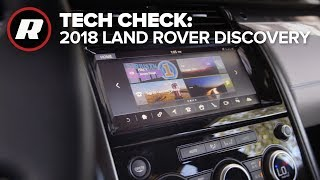 Tech Check: InControl Touch Pro system in the 2018 Land Rover Discovery