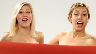 Women BFFs See Each Other Naked For The First Time