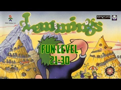 Lemmings (1991) - PC - Fun Level 21 to 30