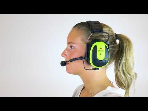 Operate Two Way Radio   3M™ PELTOR™ WS™ ALERT™ XPI User Instructions