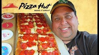 Pizza Hut® BIG Flavor Dipper Pizza REVIEW!