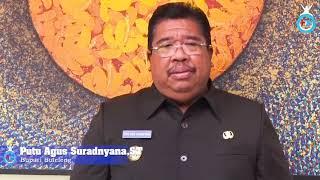 Ucapan Selamat Bupati Buleleng Putu Agus Suradnyana kepada Joko Widodo-KH Ma'ruf Amin