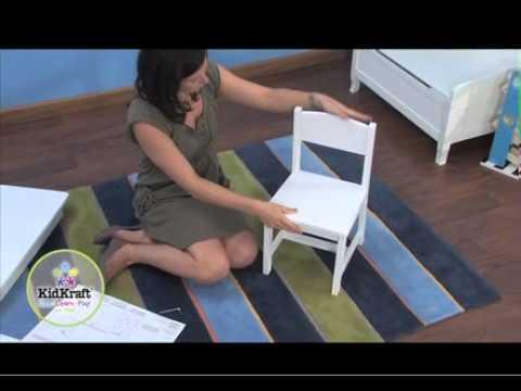 Kidkraft Aspen Table and 2 Chair Set White