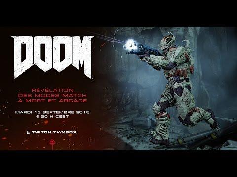 DOOM – Annonce Matchs à mort et mode Arcade en livestream ...