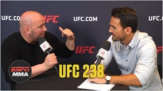 Dana White excited for UFC 238, opens up about Brock Lesnar and Conor McGregor | ESPN MMA