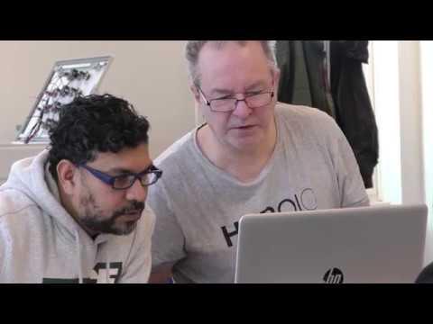 """""""Att prova nåt nytt"""" - Rajendran och Anders studerar hos Teknikutbildarna."""