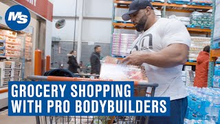 Grocery Shopping with Pro Bodybuilders | Fouad Abiad's Last Off-Season Grocery Trip
